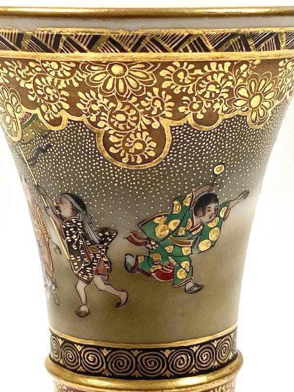 Kinkozan vase - image 4