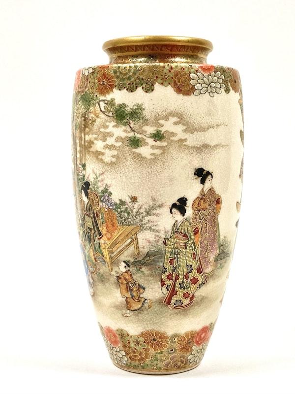 Okatomo Ryozan vase - image 2