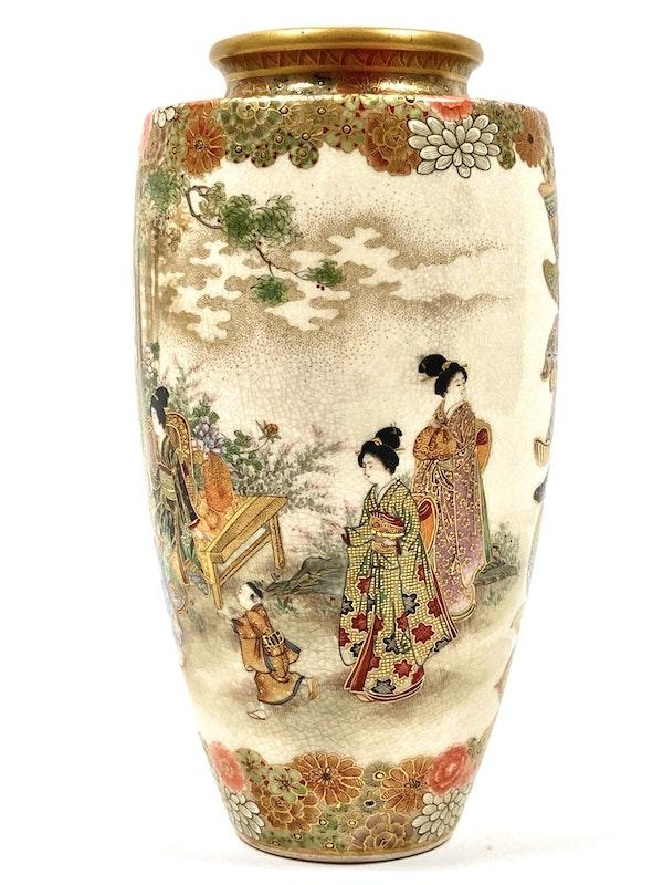 Okatomo Ryozan vase - image 5