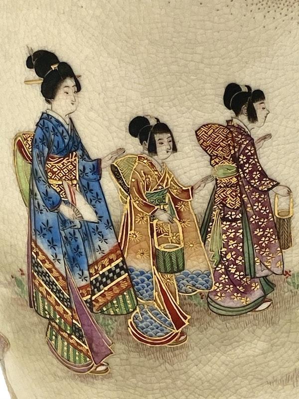 Okatomo Ryozan vase - image 10