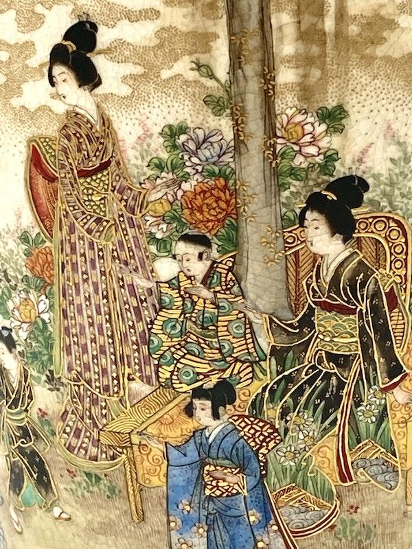 Okatomo Ryozan vase - image 8