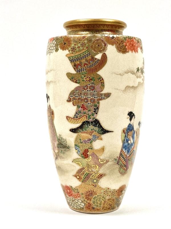 Okatomo Ryozan vase - image 3