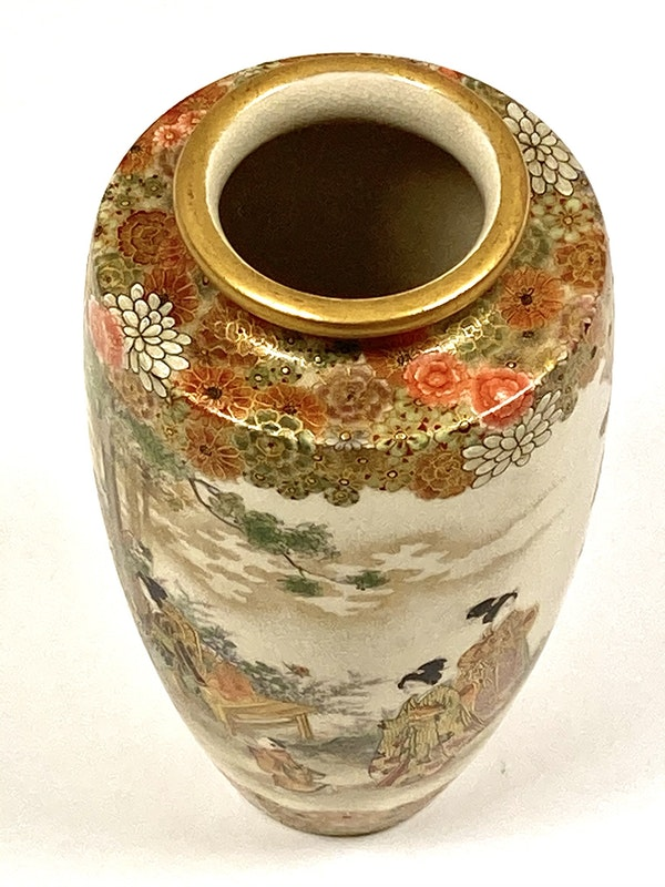 Okatomo Ryozan vase - image 6