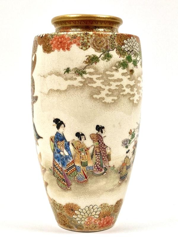 Okatomo Ryozan vase - image 4