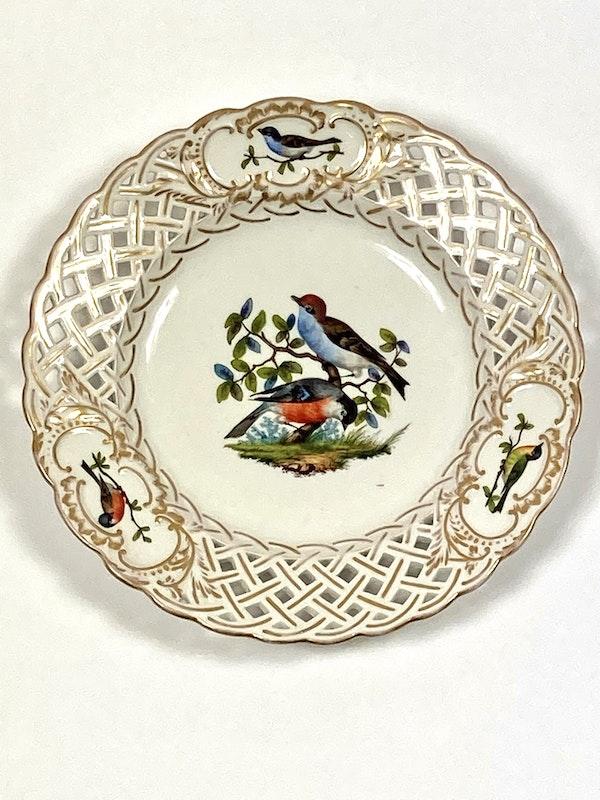 Meissen bird painted plates - image 2