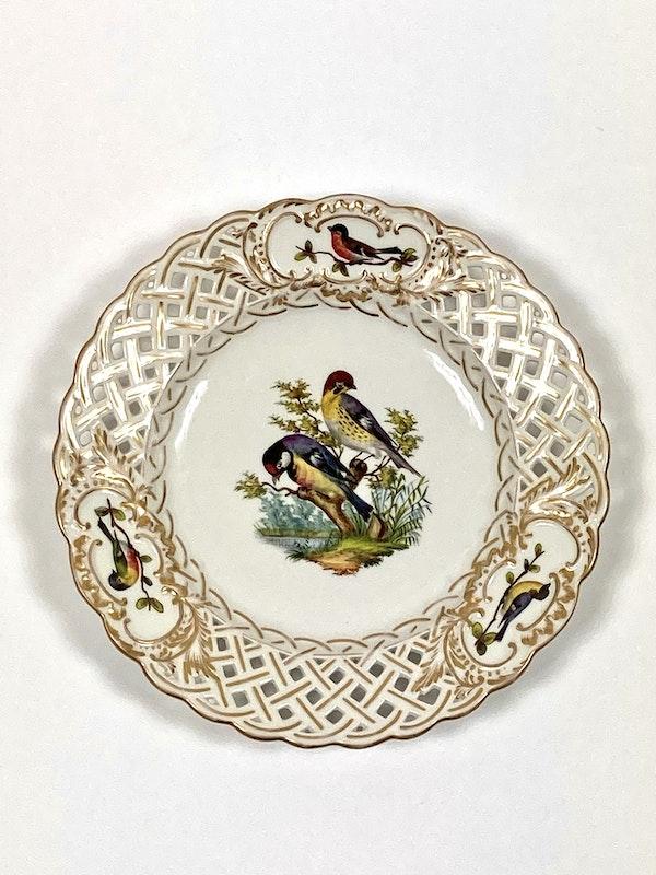 Meissen bird painted plates - image 5