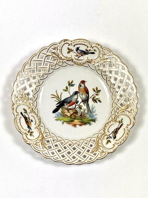 Meissen bird painted plates - image 7