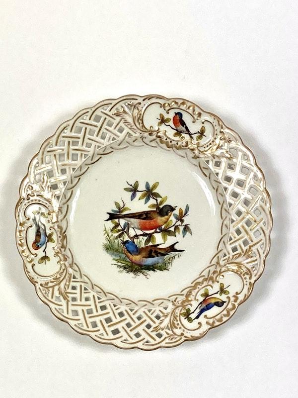 Meissen bird painted plates - image 6