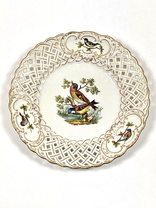 Meissen bird painted plates - image 4