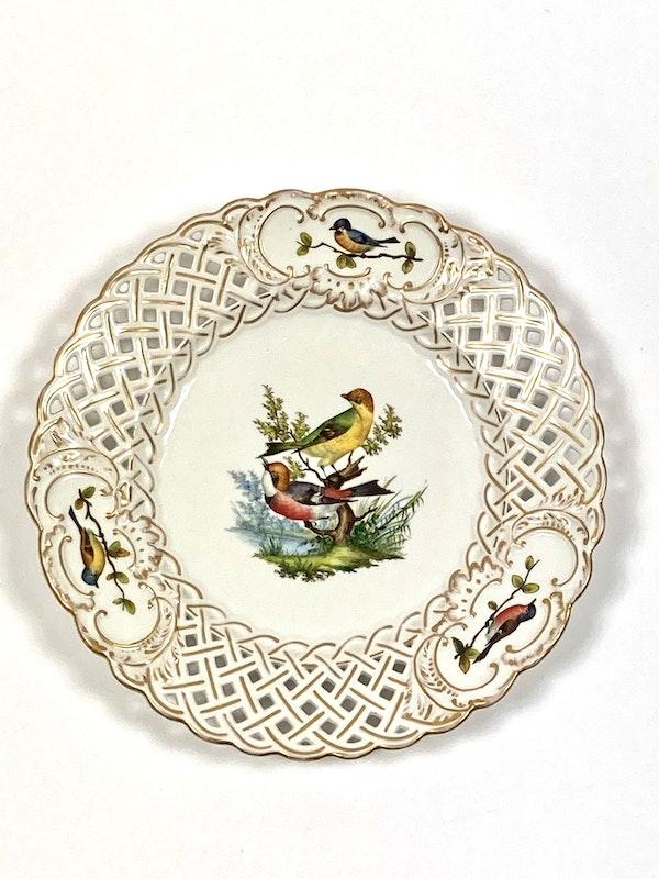 Meissen bird painted plates - image 3