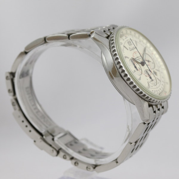Breitling Navitimer Montbrilliant ref A41330, Steel, Chronograph, 38mm, Papers - image 2