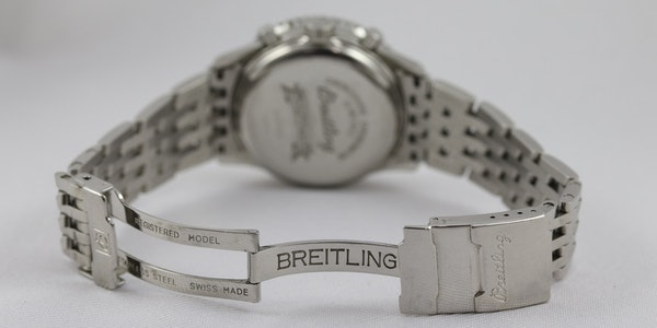 Breitling Navitimer Montbrilliant ref A41330, Steel, Chronograph, 38mm, Papers - image 9