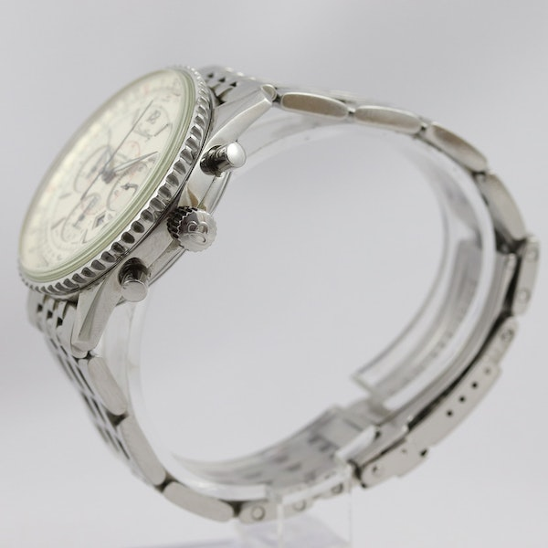 Breitling Navitimer Montbrilliant ref A41330, Steel, Chronograph, 38mm, Papers - image 3