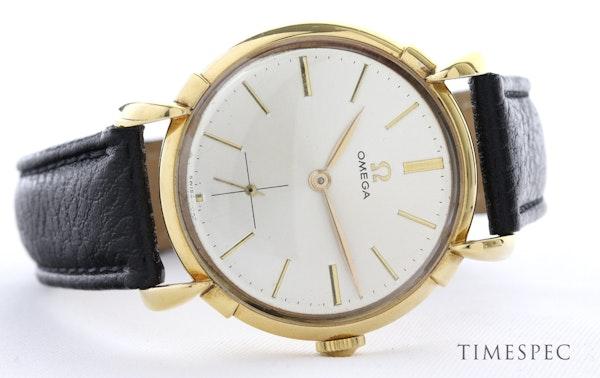 Omega, 35mm, Vintage Watch, 18K Yellow Gold, Manual Winding, Circa 1950s - image 4