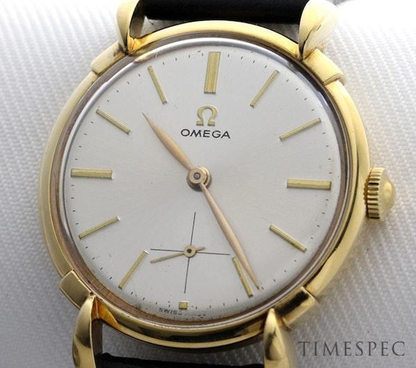 Omega, 35mm, Vintage Watch, 18K Yellow Gold, Manual Winding, Circa 1950s - image 8
