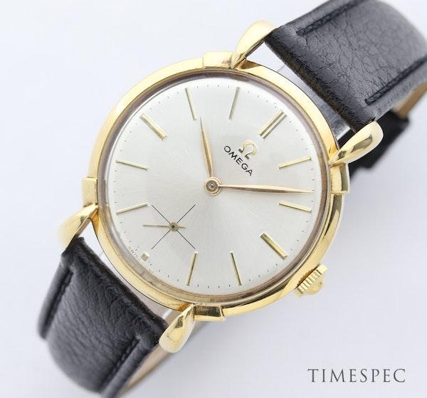 Omega, 35mm, Vintage Watch, 18K Yellow Gold, Manual Winding, Circa 1950s - image 7