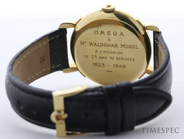 Omega, 35mm, Vintage Watch, 18K Yellow Gold, Manual Winding, Circa 1950s - image 6