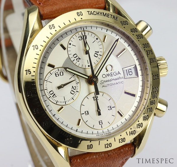 OMEGA Speedmaster Automatic Movement Chronograph 18K Yellow Gold - image 2