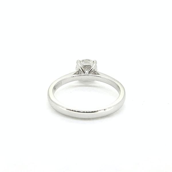 Diamond Solitaire ring, 1ct, F colour, IGI Certificate - image 2