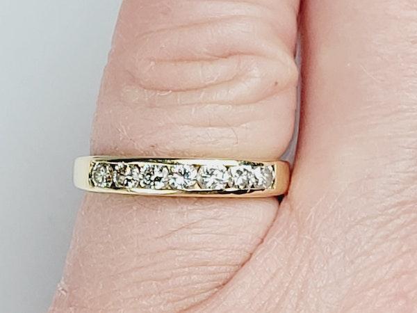 Half hoop diamond ring sku 4918  DBGEMS - image 4