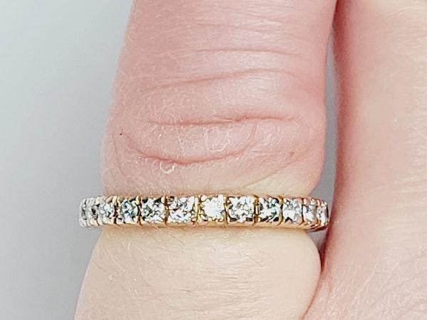 Full hoop diamond ring sku 4917  DBGEMS - image 3