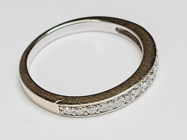 Half hoop diamond band SKU 4919  DBGEMS - image 3
