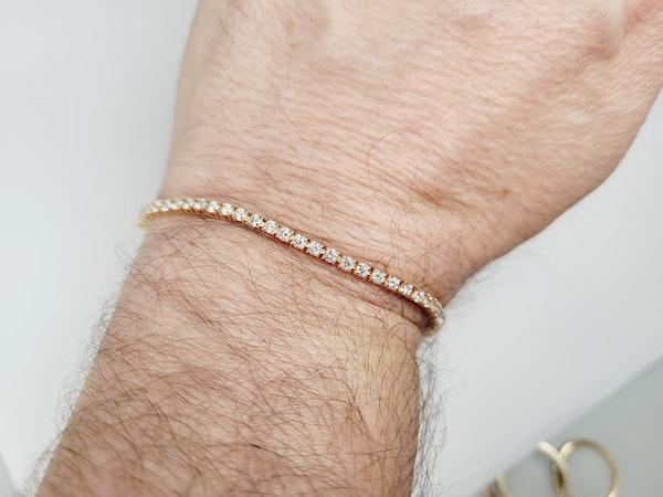 Diamond tennis bracelet sku 4916  DBGEMS - image 3