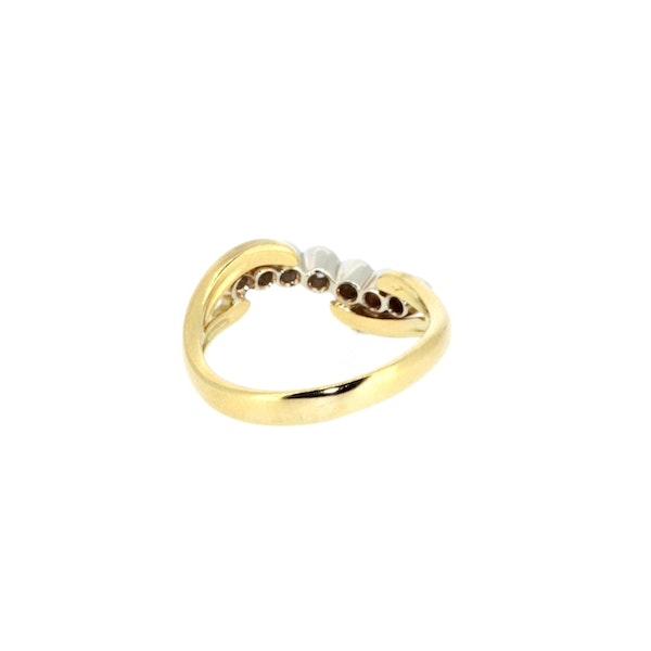 Diamond Twist Ring. S. Greenstein - image 3