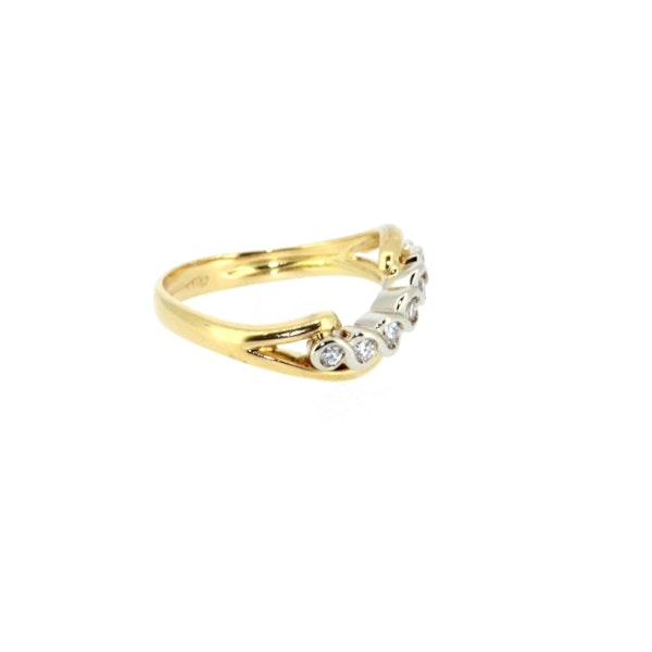 Diamond Twist Ring. S. Greenstein - image 2