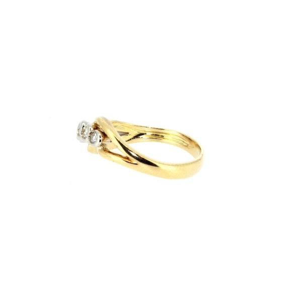 Diamond Twist Ring. S. Greenstein - image 4