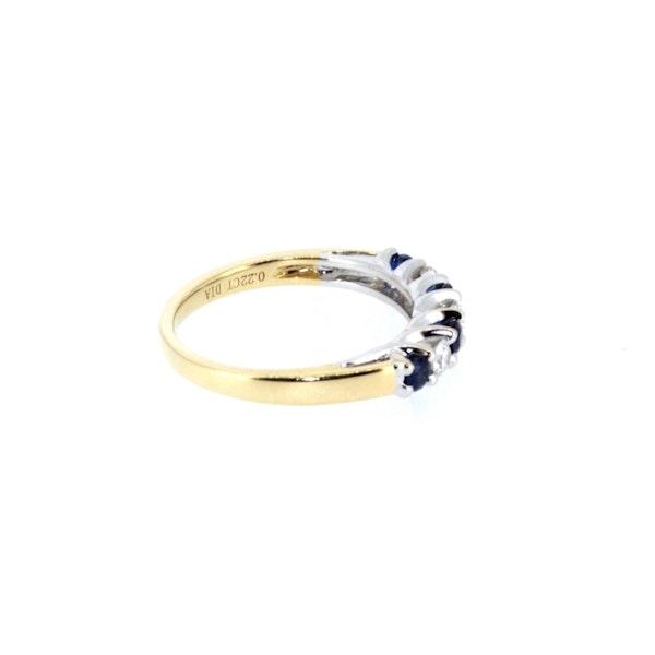 Sapphire And Diamond Ring. S. Greenstein - image 4