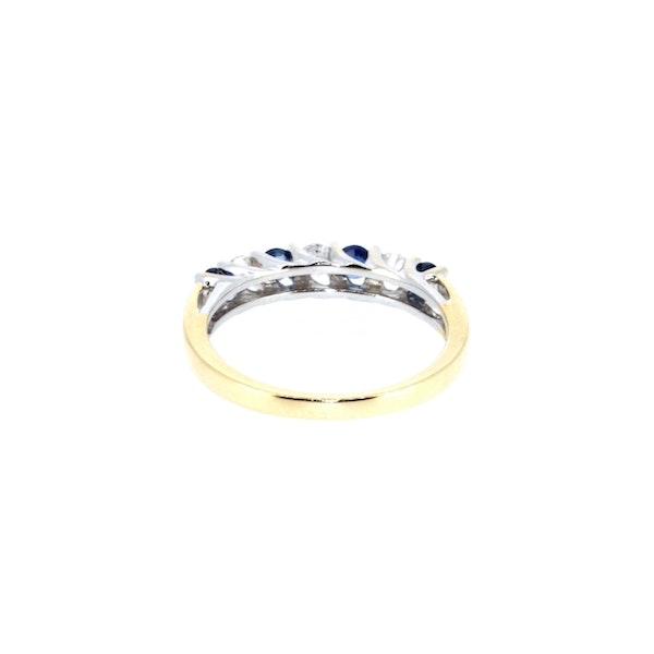 Sapphire And Diamond Ring. S. Greenstein - image 3