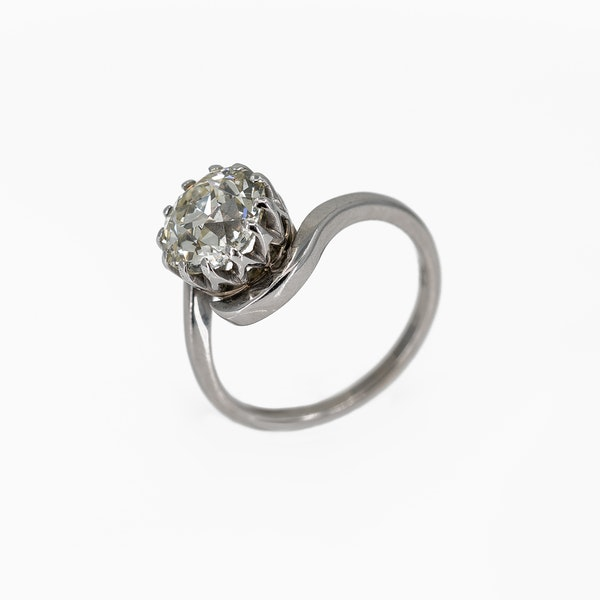 A Brilliant Cut Diamond Ring Offered by The Gilded Lily - image 3