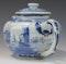 Japanese Arita blue and white teapot, Edo Period (1603-1868), early 18th century - image 3