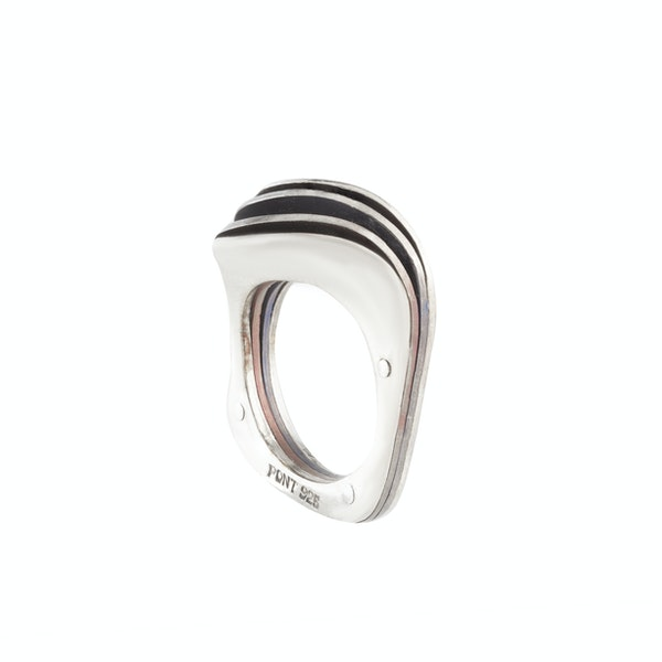 A Wavy Silver Ring - image 2