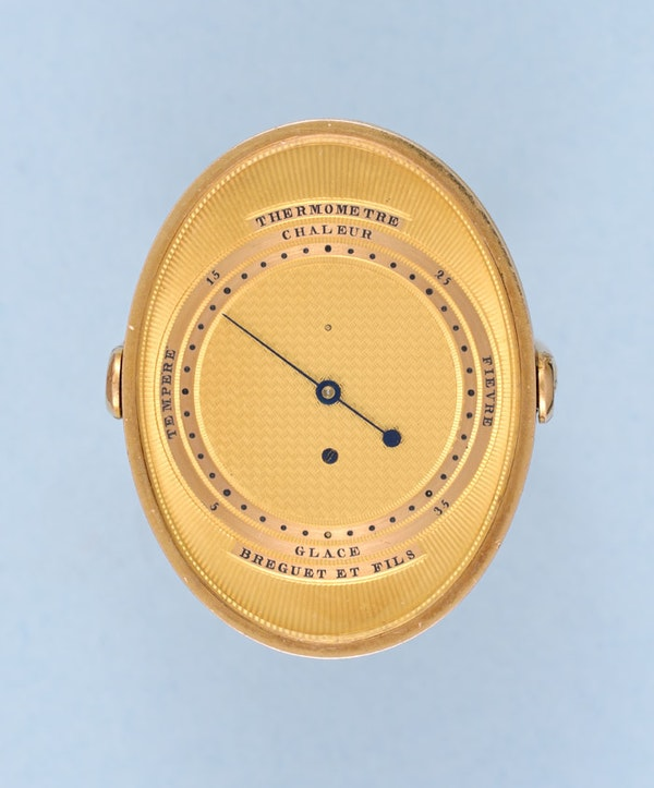 RARE GOLD RING THERMOMETER BY BREGUET - image 4