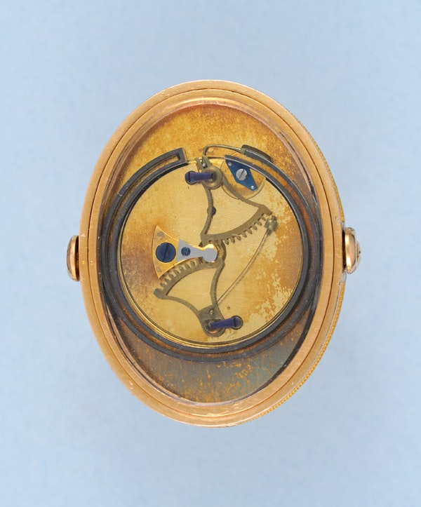RARE GOLD RING THERMOMETER BY BREGUET - image 6
