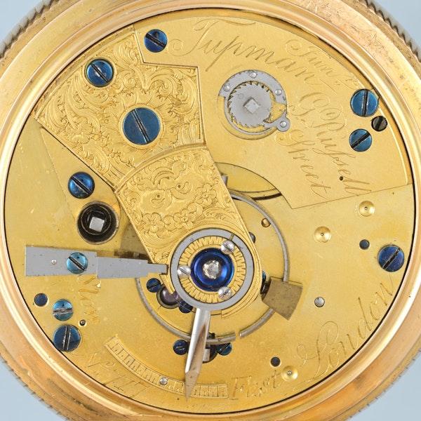 GOLD QUARTER REPEATING DUPLEX - image 3
