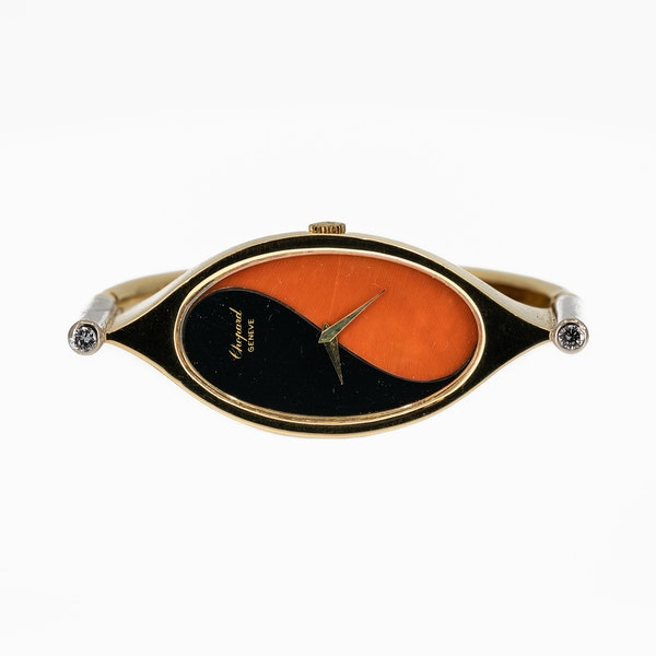 A Bangle Wristwatch By Chopard Offered By The Gilded Lily - image 3