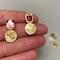 Tourmaline Earrings in 18k Yellow Gold by Lilly Shapiro, SHAPIRO & Co since1979 - image 2