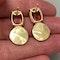 Tourmaline Earrings in 18k Yellow Gold by Lilly Shapiro, SHAPIRO & Co since1979 - image 6