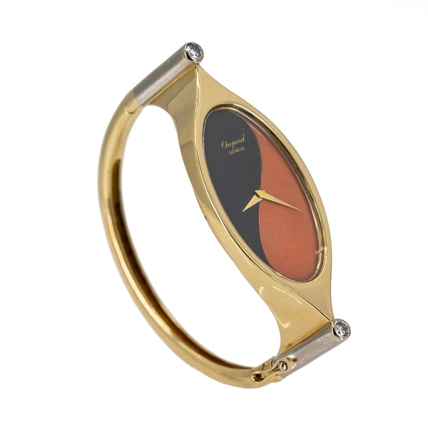 A Bangle Wristwatch By Chopard Offered By The Gilded Lily - image 5