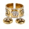 A Bangle and Earclip Suite of Stylised Elephant design Offered By The Gilded Lily - image 3