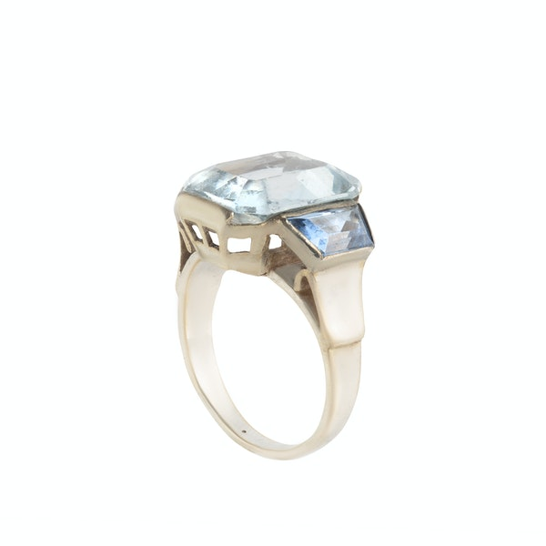 A French Silver Paste Ring - image 2