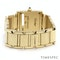 Cartier Tank Francaise Small Model 18k Yellow Gold 20mm Ref. 2385. Ladies - image 5