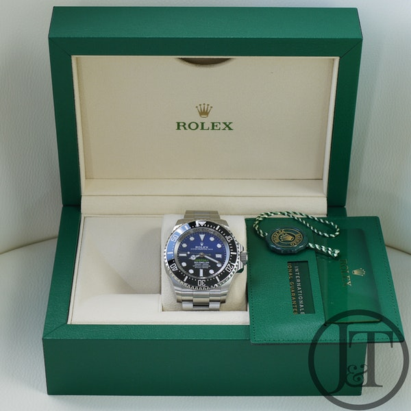 Rolex Deepsea Sea Dweller 126660 D-Blue Dial - image 3