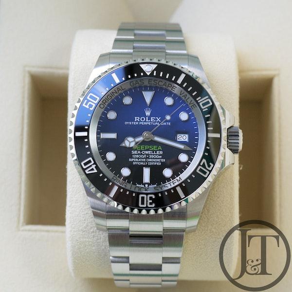 Rolex Deepsea Sea Dweller 126660 D-Blue Dial - image 2