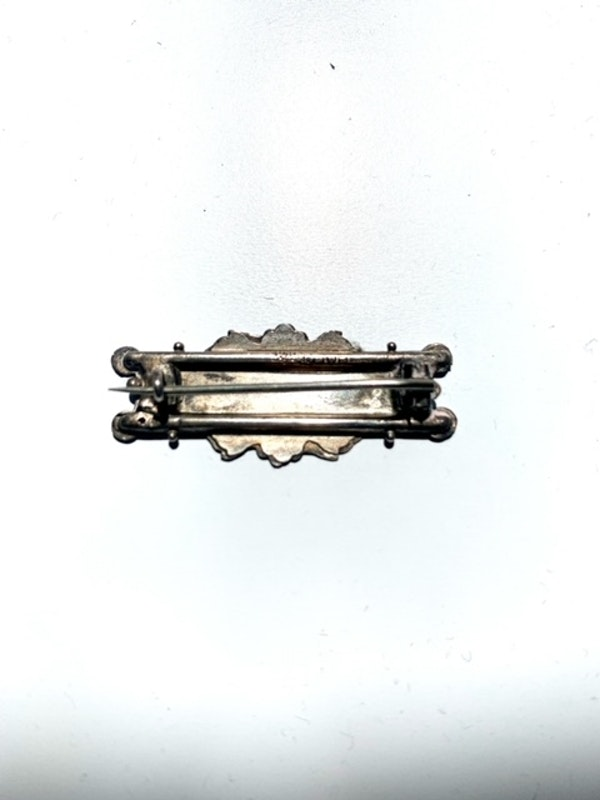 Beatrice Victorian silver name brooch. Spectrum - image 2