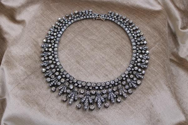 A Superb Kokoshnik Diamond Tiara - Necklace, Austro-Hungarian, Late 19th Century - image 1