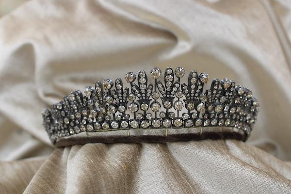 A Superb Kokoshnik Diamond Tiara - Necklace, Austro-Hungarian, Late 19th Century - image 2